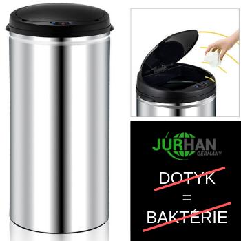 Odpadkový kôš JURHAN - AUTOMATICKÉ OTVÁRANIE - 56 LITROV
